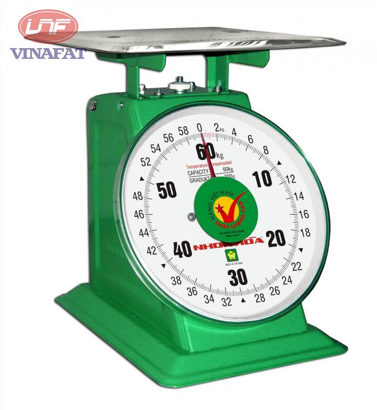 Cân đồng hồ Nhơn Hòa 60kg
