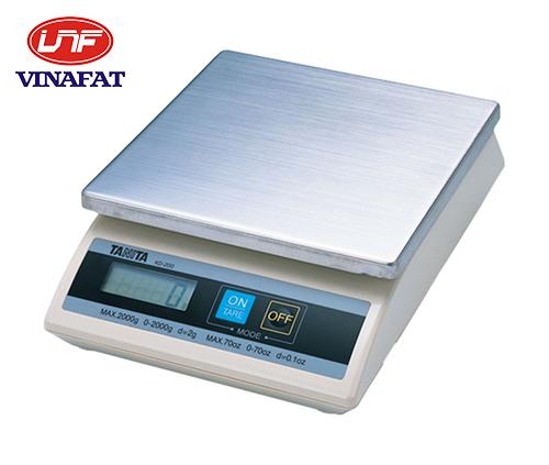 Cân điện tử Tanita KD-200 1kg, 2kg, 5kg